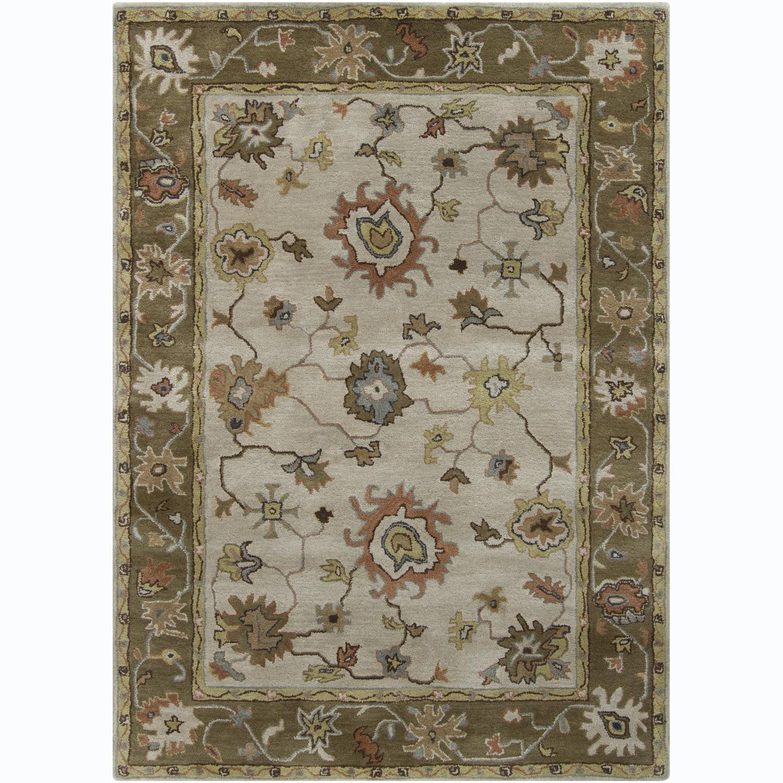 Artist's Loom Hand-tufted Traditional Oriental Wool Rug (7'x10') - 7' x 10'