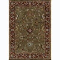 Artist's Loom Hand-tufted Traditional Oriental Wool Rug - 7' x 10'
