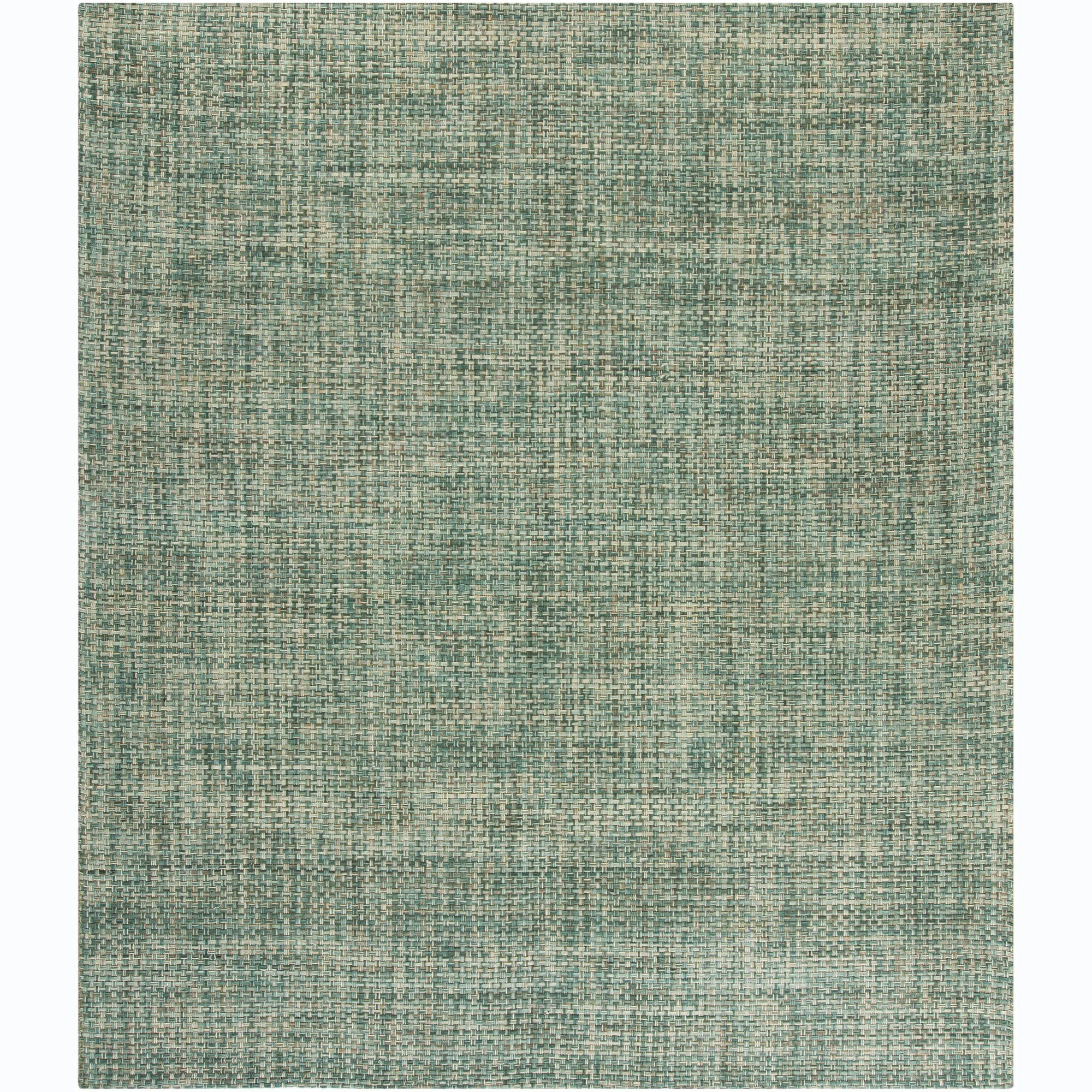 Artist's Loom Hand-woven Contemporary Abstract Wool Rug - 7'9 x 10'6