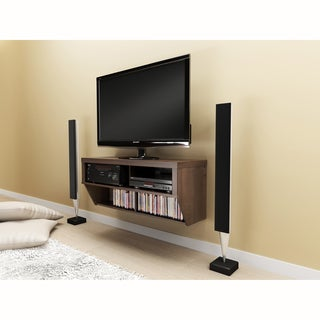 Series 9 Designer Collection Espresso 42-inch Wide Wall Mounted AV Console