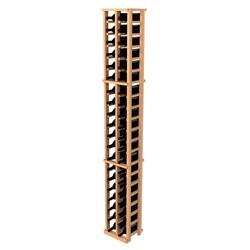 Traditional Redwood 2-Column Wine Rack