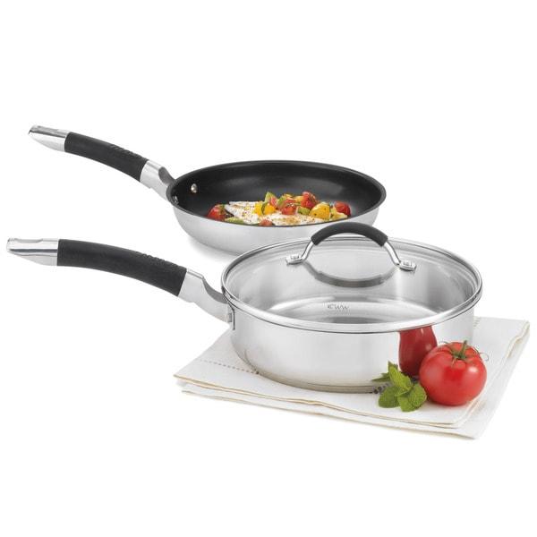 Cuisinart Weight Watchers 3-piece Stainless Cookware Set