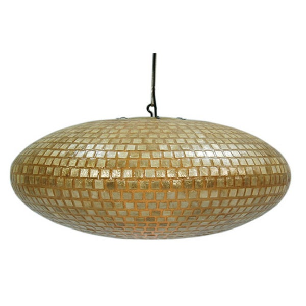 Decorative Gold Contemporary Desna Hanging Lamp