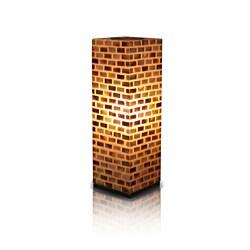 Decorative Beige Contemporary Valentti Square Table Lamp