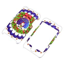 Wreath Case/ Anti-glare Protector for Apple iPod Touch Generation 4