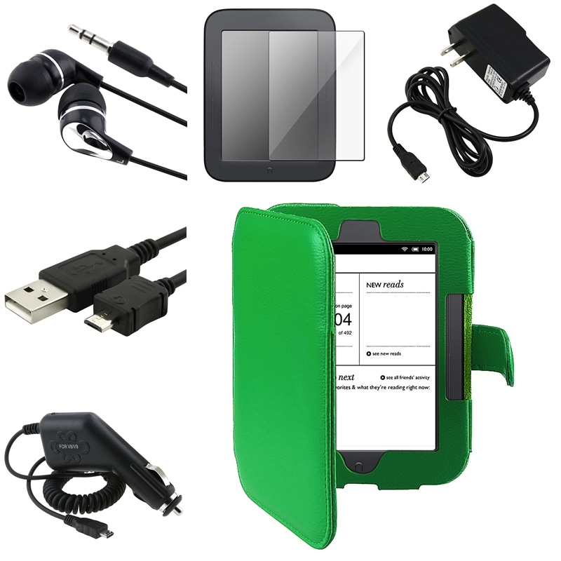 Case/ Screen Protector/ Chargers/ Headset for Barnes & Noble Nook 2