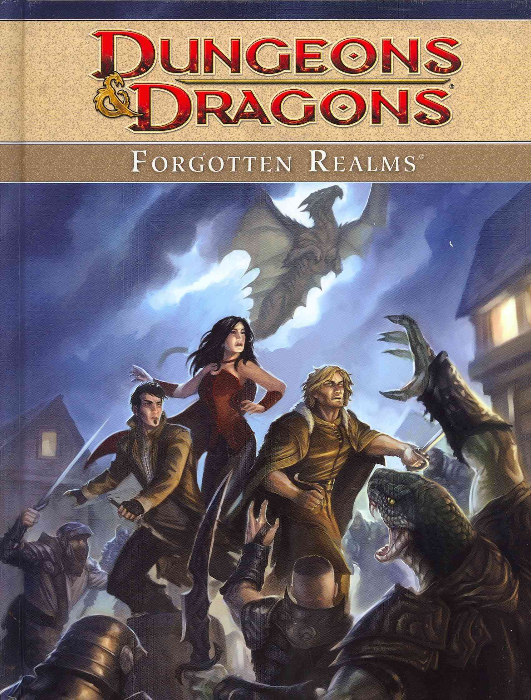 Dungeons & Dragons: Forgotten Realms (Hardcover) - Thumbnail 0