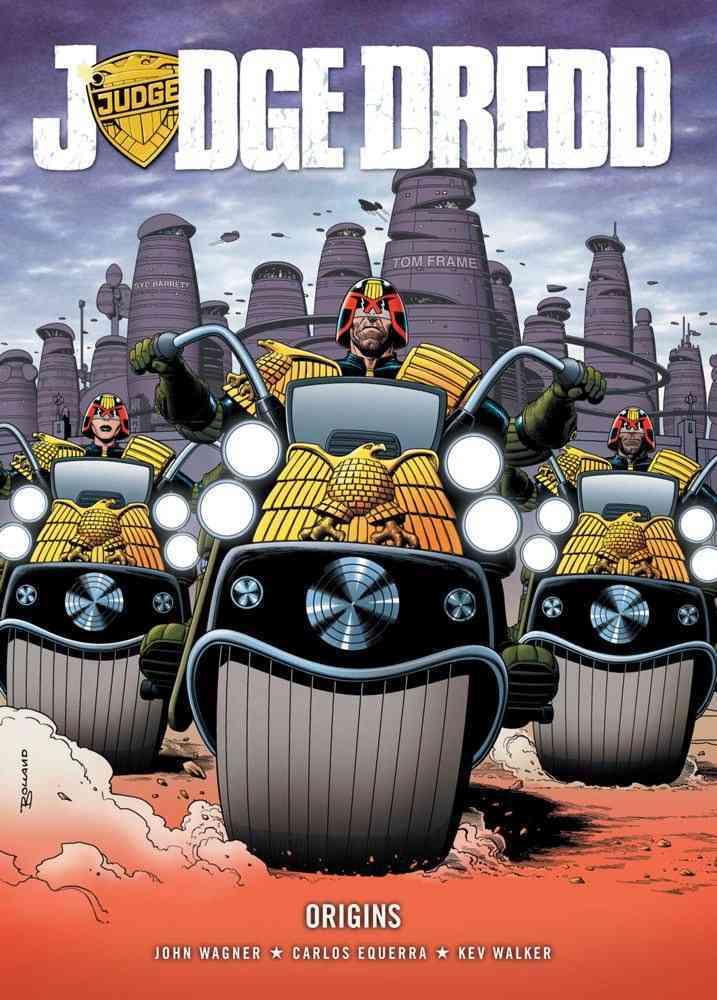 Judge Dredd: Origins (Paperback)
