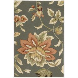 Nourison Hand-hooked Fantasy Gray Accent Rug (2'6 x 4')