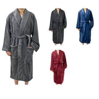 Leisureland Men's Fleece 50 inch Bathrobe https://ak1.ostkcdn.com/images/products/6834134/P14362525.jpg?impolicy=medium