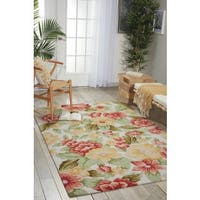 """Nourison Casual Hand-Hooked Fantasy Ivory Rug (1'9"""" x 2'9"""") - 1'9 x 2'9"""
