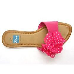 Blue Women's 'Floradot' Fuchsia Slide Sandals