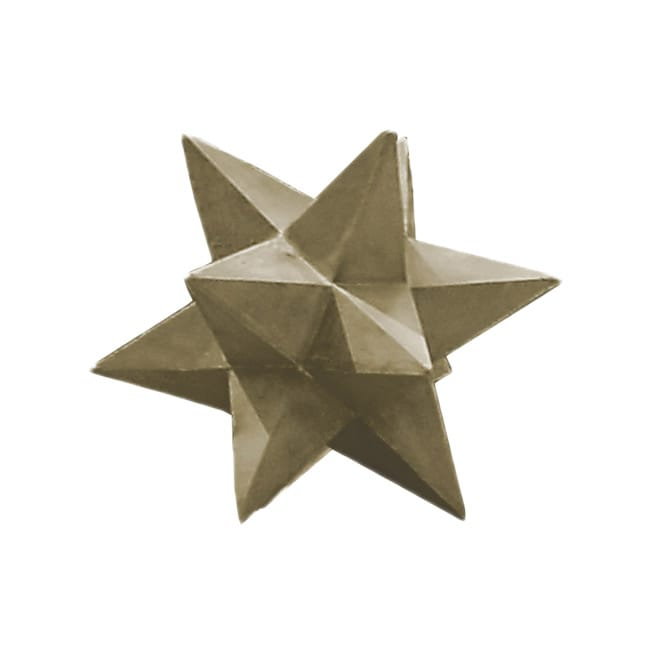 Shooting Star 19-inch High With Sandstone Finish Garden Decor
