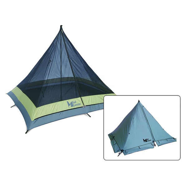 Pingora Single-Pole 4-season 4-man Tent
