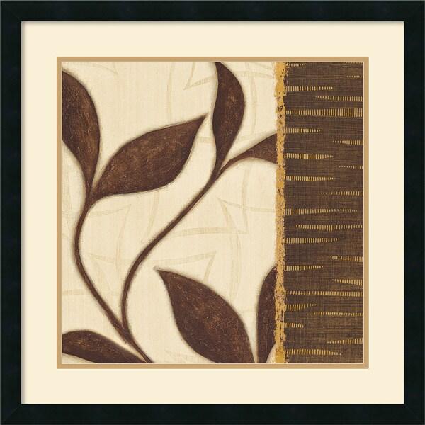 Verbeek & Vandenbrock 'New Leaf II' Framed Art Print
