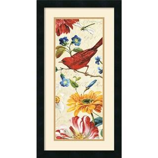 Lisa Audit 'Rainbow Garden VII Cream' 14 x 26-inch Framed Art Print