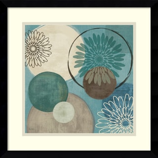 Framed Art Print 'Flora Mood I' by Veronique Charron 17 x 17-inch