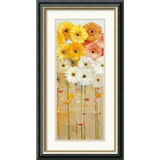 Danhui Nai 'Daisies Fall I' 15 x 27-inch Framed Art Print
