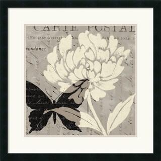 Daphne Brissonnet 'Natural Prints I' Framed Art Print