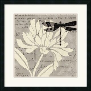 Daphne Brissonnet 'Natural Prints II' Framed Art Print