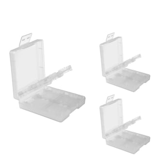 INSTEN White Game Card Case Cover for Nintendo DS/ NDSL/ DSI/ LL/ XL (Pack of 3)