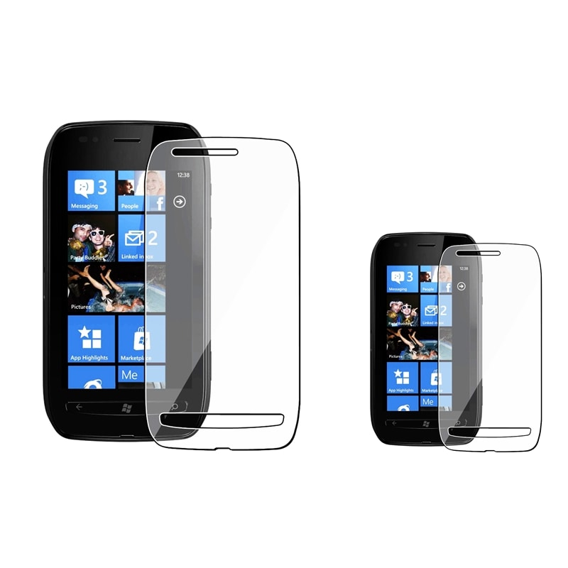 INSTEN Clear Screen Protector for Nokia Lumia 710 (Pack of 2)