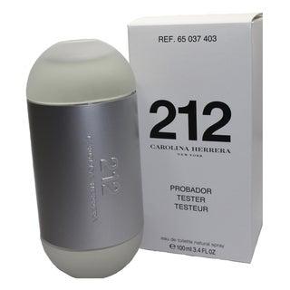 Carolina Herrera 212 Women's 3.4-ounce Eau de Toilette Spray (Tester)