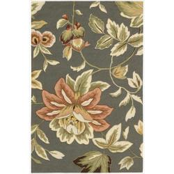 "Nourison Hand-Hooked Fantasy Gray Accent Rug (1'9"" x 2'9"")"