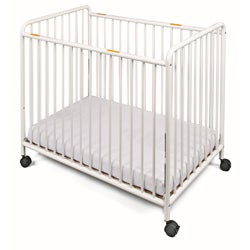 Foundations Chelsea Non-folding Steel Compact Slatted Crib - Thumbnail 0