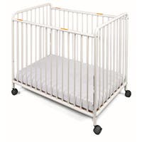 Foundations Chelsea Non-folding Steel Compact Slatted Crib