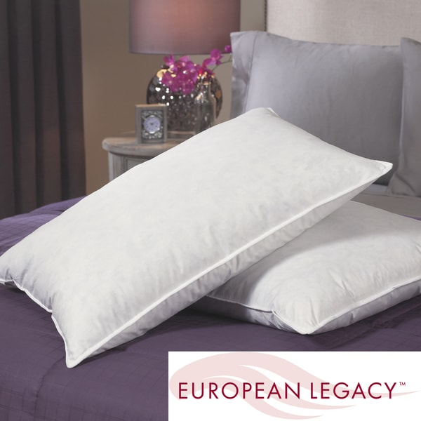 European Legacy Ultimate Comfort Euro-Down Blend Pillows (Set of 2)