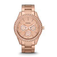 Fossil Women's ES3003 Stella Rose Gold Watch