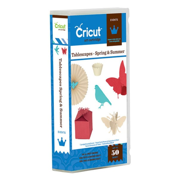 Cricut 'Spring and Summer' Tablescapes Events Cartridge