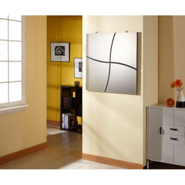 Furniture of America Contemporary Broken Design Decor Mirror