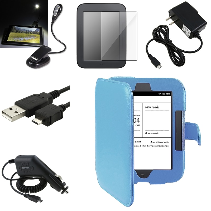 Case/ Screen Protector/ LED/ Cable/ Chargers for Barnes & Noble Nook 2
