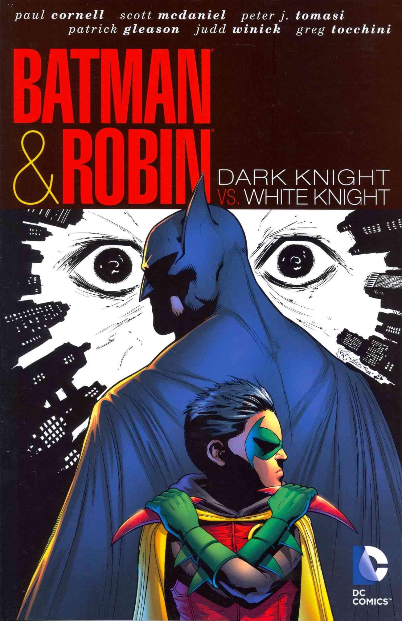 Batman & Robin: Dark Knight Vs. White Knight (Paperback)