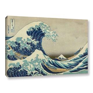 Katsushika Hokusai 'The Great Wave off Kanagawa' Gallery Wrapped Canvas