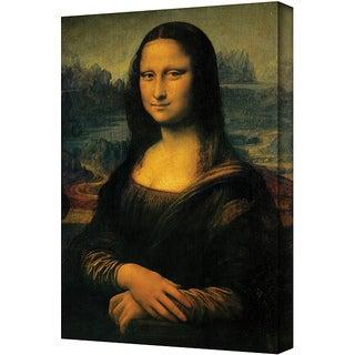 Leonardo Da Vinci 'Mona Lisa' Gallery Wrapped Canvas