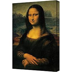 Large Leonardo Da Vinci 'Mona Lisa' Gallery-Wrapped Canvas