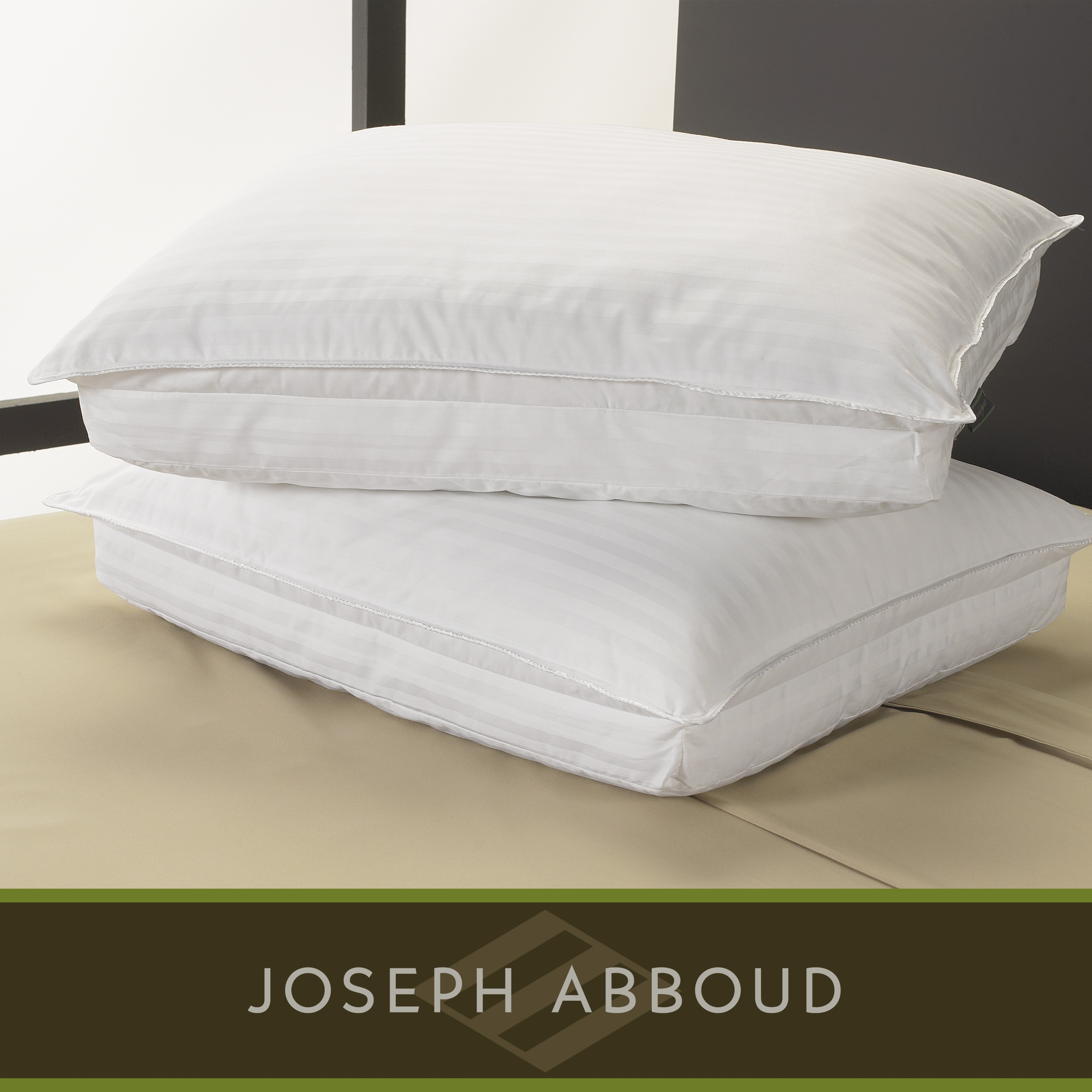 Joseph Abboud 300 Thread Count Pillow Top 2-in-1 Pillows (Set of 2) - Thumbnail 0