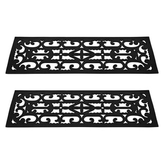 TerraTrade 2-piece Non-slip Stair Tread Mats