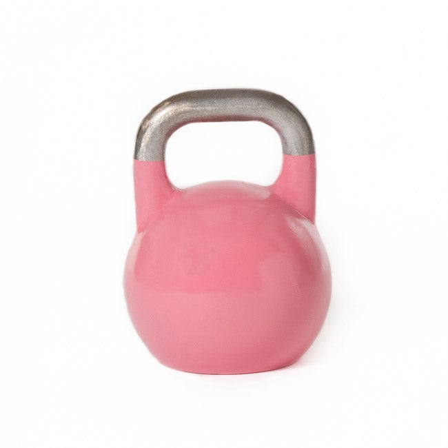 Eight-kilogram Steel-shell Competition Kettlebell with Sanded Handle - Thumbnail 0