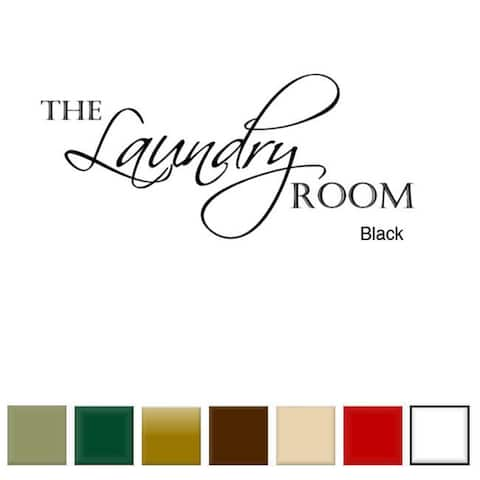 The Laundry Room' Vinyl Wall Art Decal
