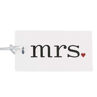 'Mrs.' Luggage Tag