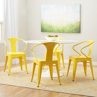 dining room chairs set of 4. Tabouret Lemon Metal Stacking Chairs (Set Of 4) Dining Room Set 4
