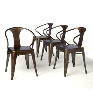 Elegant Vintage Tabouret Stacking Chairs (Set Of 4)