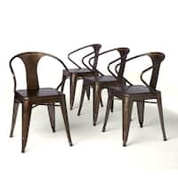 Carbon Loft Vintage Tabouret Stacking Chairs (Set of 4)