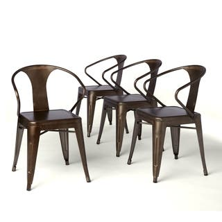 Carbon Loft Vintage Tabouret Stacking Chairs Set Of 4