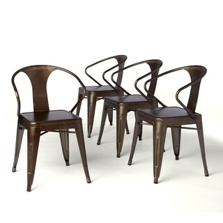 Charmant Carbon Loft Vintage Tabouret Stacking Chairs (Set Of 4)