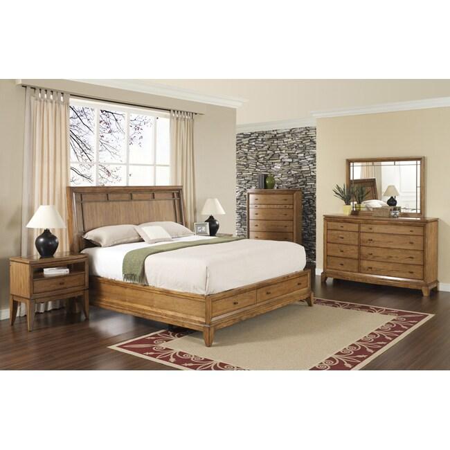 Toluca Lake 5-piece Queen-size Storage Bedroom Set